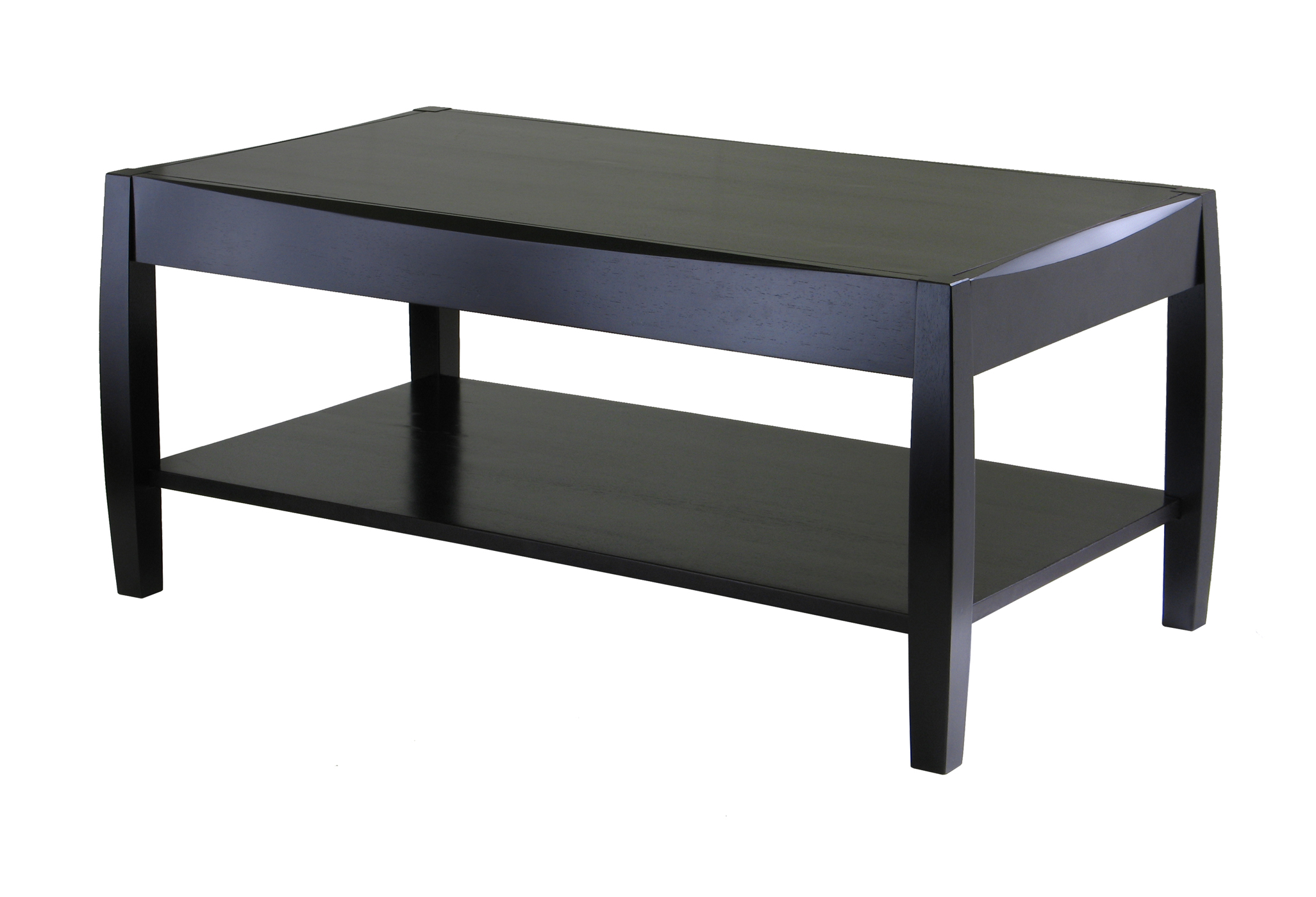 Winsome Solid Composite Wood Cleo Coffee Table Dark Espresso