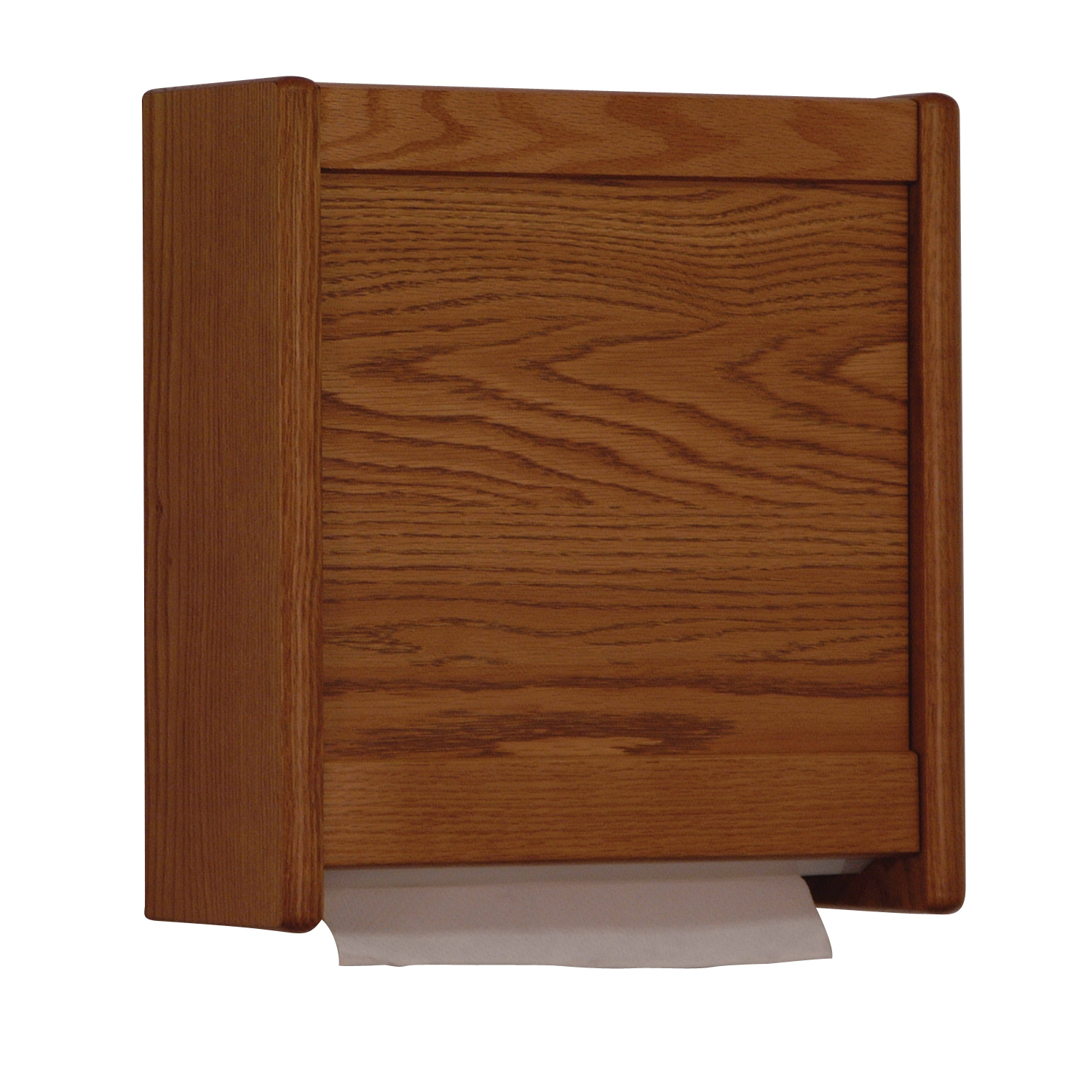 Offex C-Fold/Multi-Fold Towel Dispenser Medium Oak