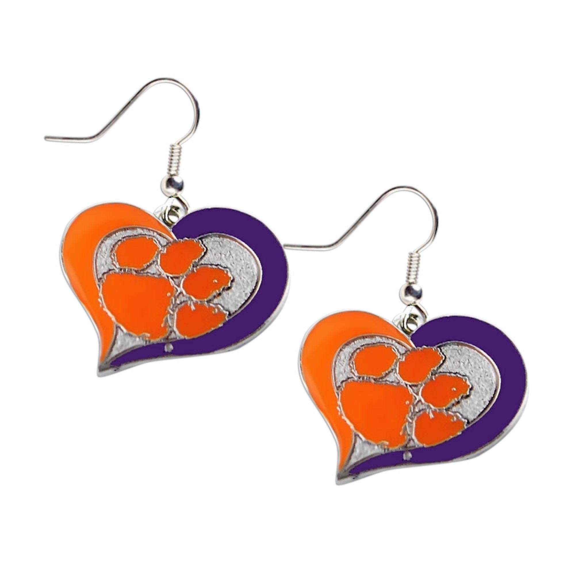 aminco Texas A and M Aggies Dangle Logo Earring Set Ncaa Charm Gift