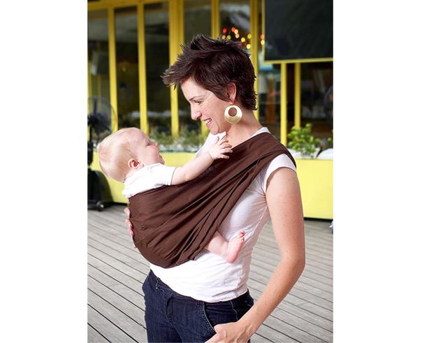 HugaMonkey Camouflage Brown Military Infant Baby Soft Carrier Sling