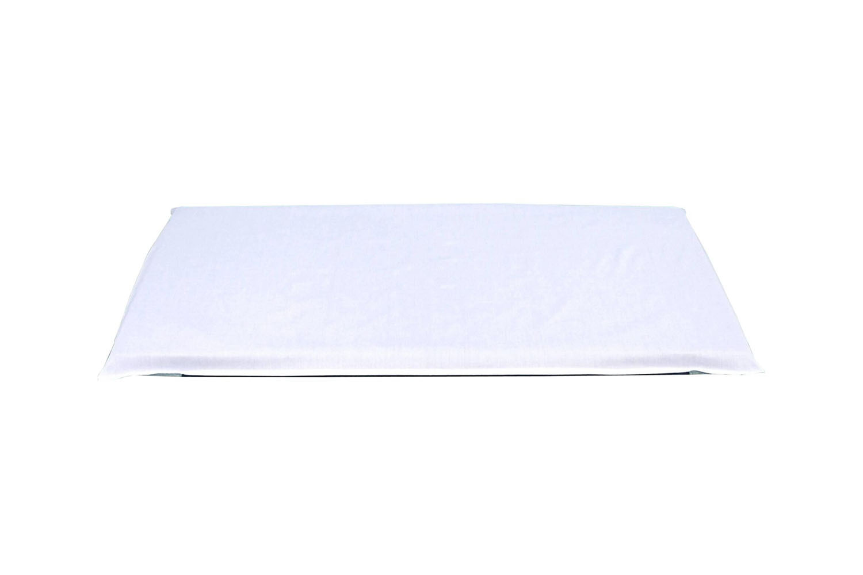 Creative Colors Pillow Case Style Mat Sheet - White